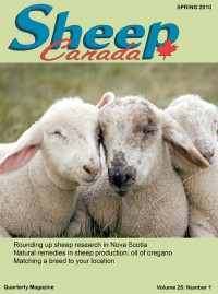 Sheep Canada - Spring 2010