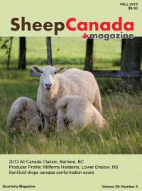 Sheep Canada - Fall 2013