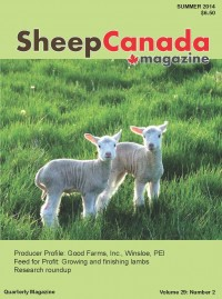 Sheep Canada :Summer 2014
