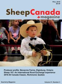 Sheep Canada: Fall 2016