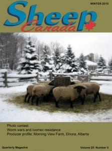 Sheep Canada - Winter 2010