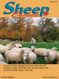 Sheep Canada - Fall 2012
