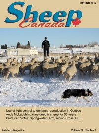 Sheep Canada - Spring 2012