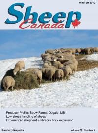 Sheep Canada - Winter 2012