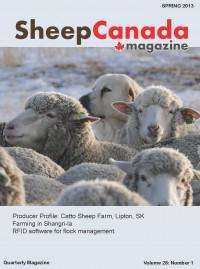 Sheep Canada - Spring 2013