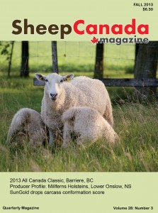 Sheep Canada - Fall 2013