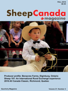 Sheep Canada: Fall 2016