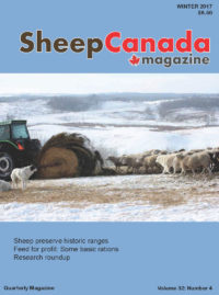 Sheep Canada – Winter 2017